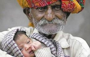 Paternità Oggi - Padre a 96 anni: in India un contadino padre per la seconda volta